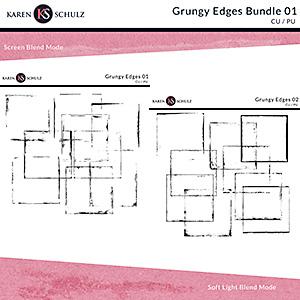 Grungy Edges Bundle 01