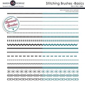 Stitching Brushes Basics