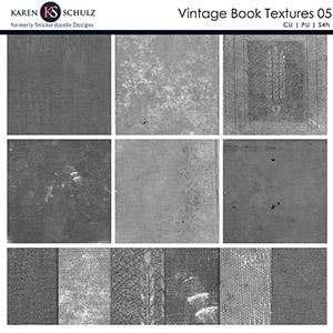 Vintage Book Textures 05
