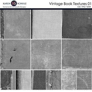 Vintage Book Textures 01