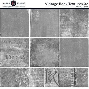 Vintage Book Textures 02