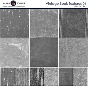 Vintage Book Textures 06