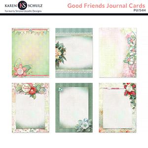 Good Friends Journal Cards