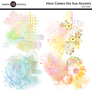 Here Comes the Sun Accents