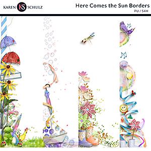 Here Comes the Sun Borders