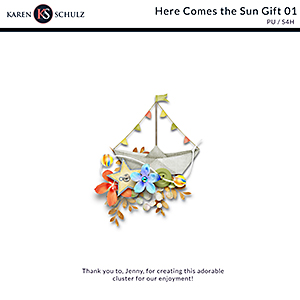 Here Comes the Sun Cluster Gift