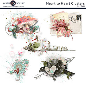 Heart to Heart Clusters