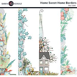 Home Sweet Home Borders