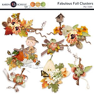 Fabulous Fall Clusters