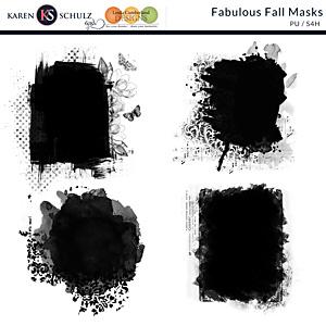 Fabulous Fall Masks