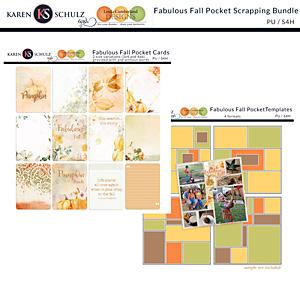 Fabulous Fall Pocket Scrapping Bundle