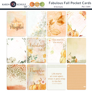 Fabulous Fall Pocket Scrapping Cards