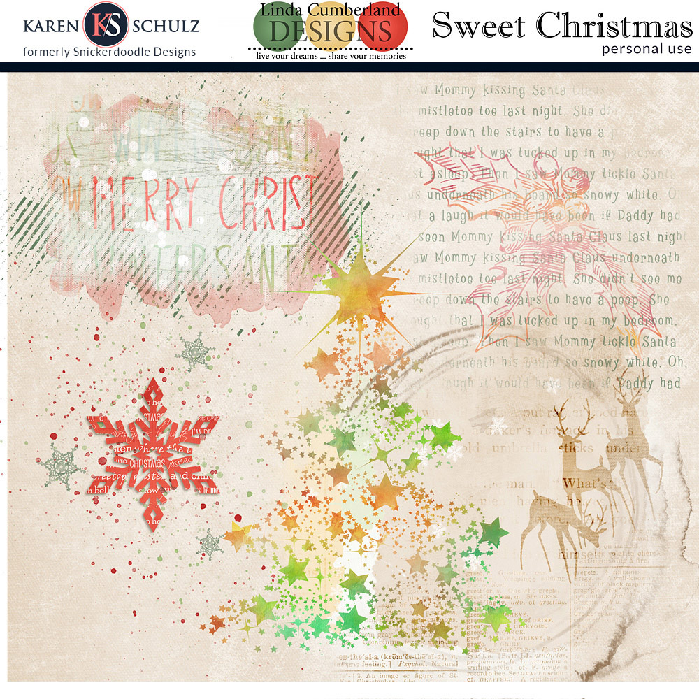 Sweet Christmas Accents