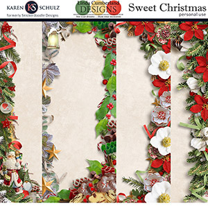 Sweet Christmas Borders