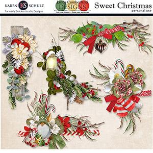 Sweet Christmas Clusters