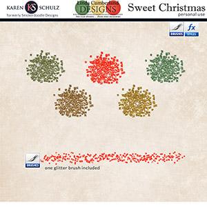 Sweet Christmas Glitter
