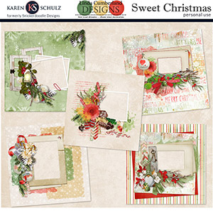 Sweet Christmas Quick Pages
