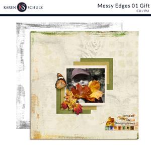 Messy Edges 01 Gift by Karen Schulz