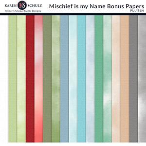 Mischief is my Name Bonus Papers