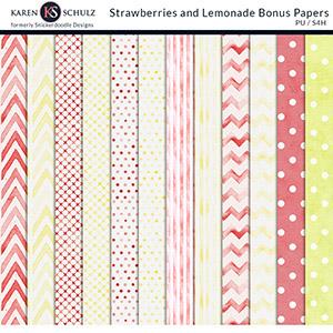 Strawberry Lemonade Bonus Papers