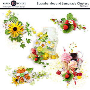 Strawberry Lemonade Clusters
