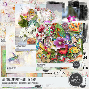 Aloha Spirit - All In One with Free With Purchase