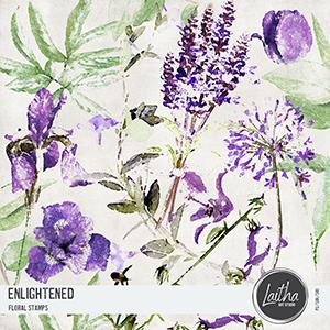 Enlightened - Floral Stamps