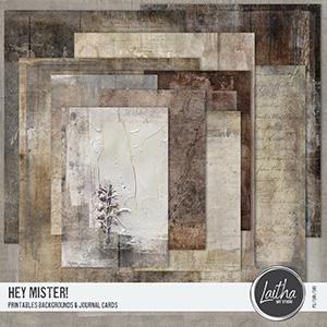 Hey Mister! - Printables