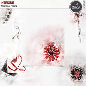 Intrigue - Watercolor Papers