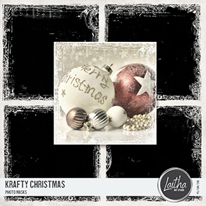 Krafty Christmas - Photo Masks