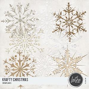 Krafty Christmas - Snowflakes