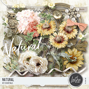 Natural - Page Kit Essentials
