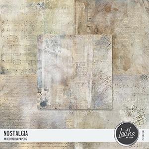 Nostalgia - Mixed Media Papers