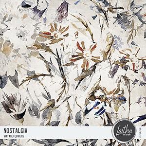Nostalgia - Vintage Flowers