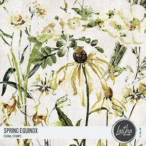Spring Equinox - Floral Stamps