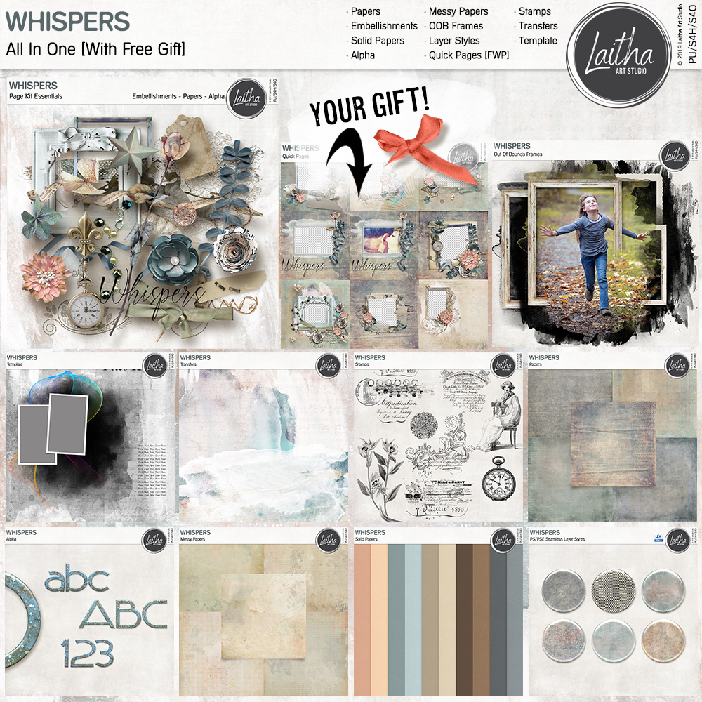 Whispers - All In One [with FWP]