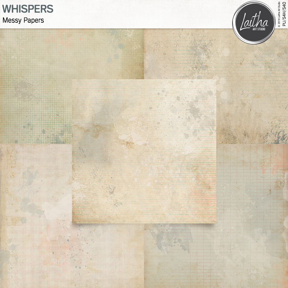 Whispers - Messy Papers