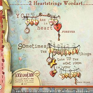 Heart Strings Wordart