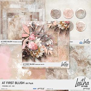 At First Blush - Art Pack