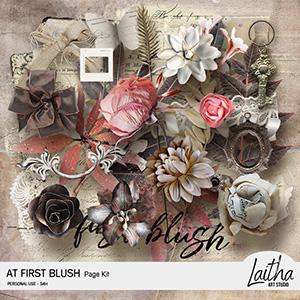 At First Blush - Page Kit