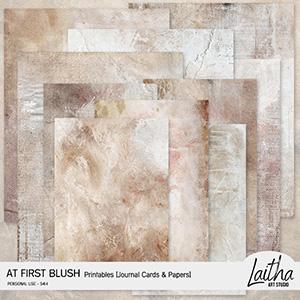 At First Blush - Printables