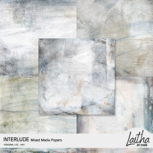 Interlude - Mixed Media Papers