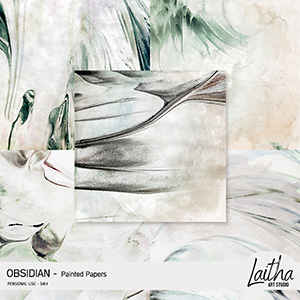 Obsidian - Painted Papers