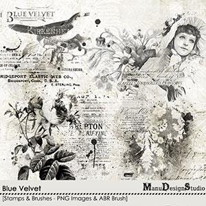 Blue Velvet - Stamps