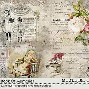 Book Of Memories - Overlays