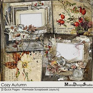 Cozy Autumn - Quick Pages
