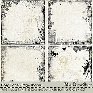 Cozy Place - Page Borders