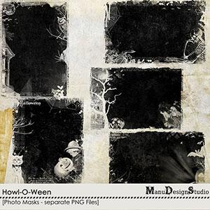 Howl-O-Ween - Photo Masks