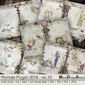 Printable Planner Pages 2018 - No. 10