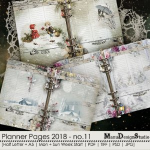 Printable Planner Pages 2018 - No. 11